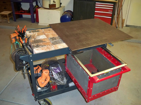 Toddfun Com 187 Blog Archive 187 Multifunctional Diy Welding Cart