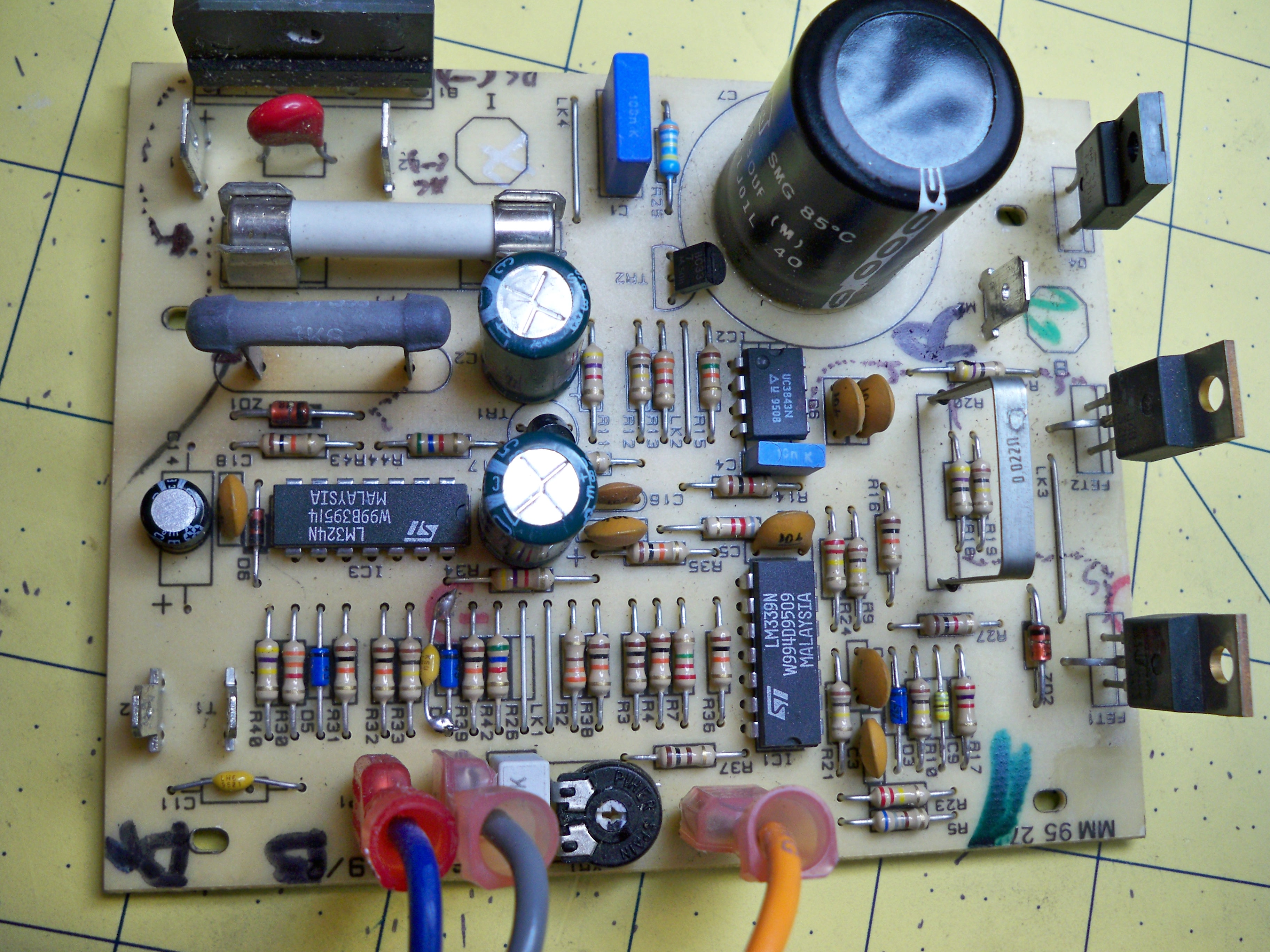 ToddFun.com » Blog Archive » Power Supply Repair: (PART 2)