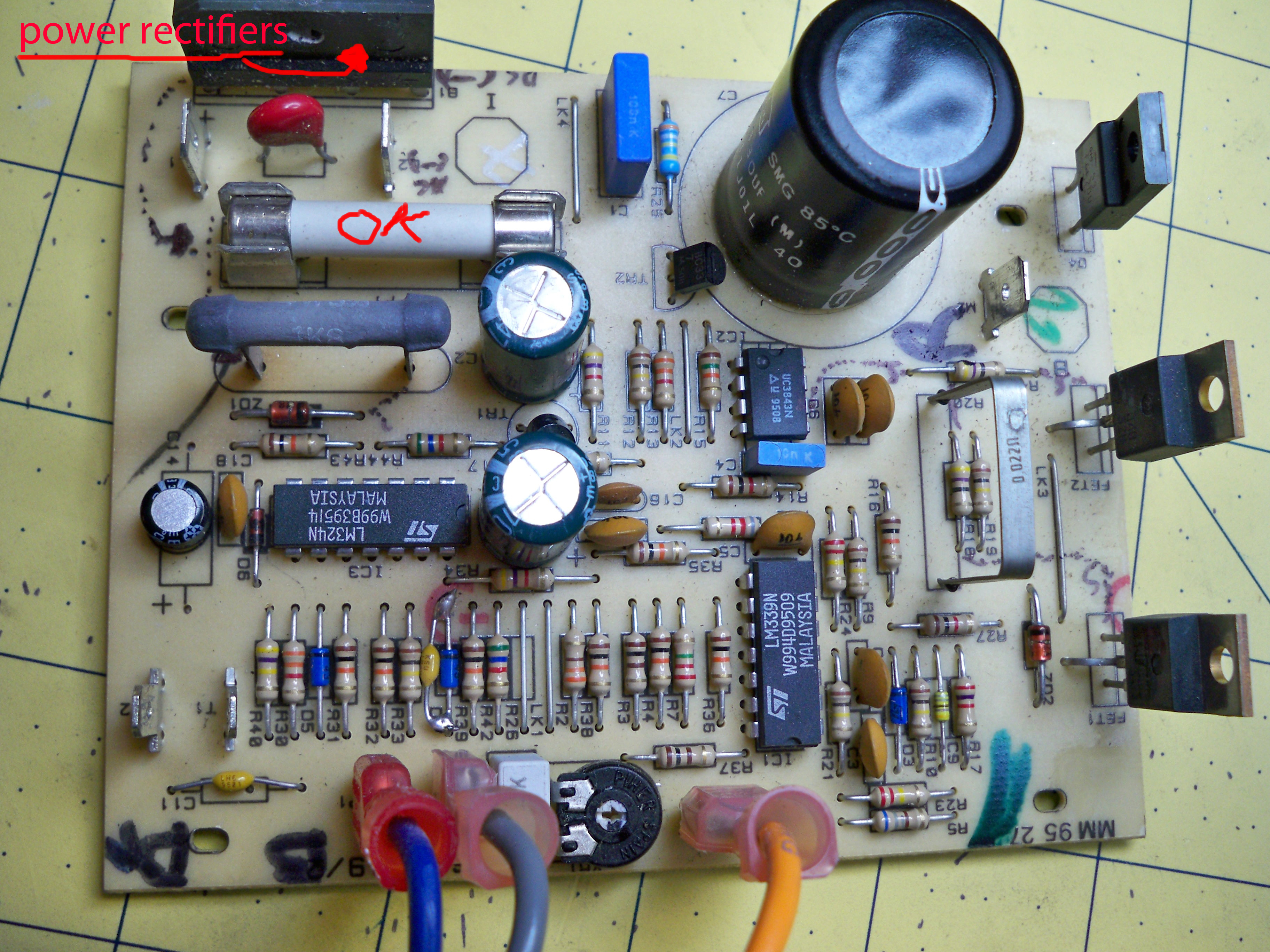 ToddFun.com » Blog Archive » Power Supply Repair: (PART 1)