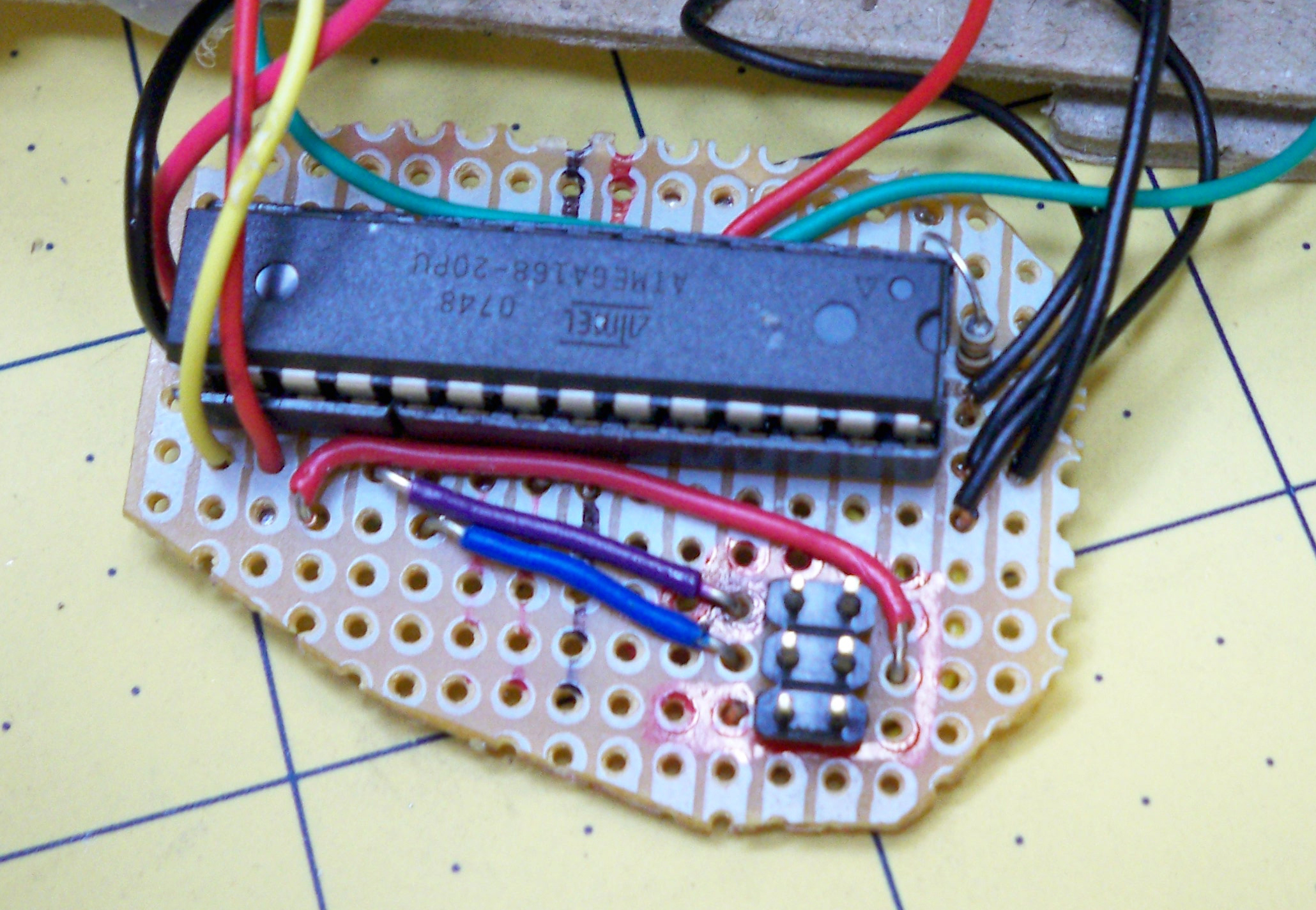 Blog Archive Make A Custom Minimal Arduino Board And Build Your Own Circuit On Breadboard Im