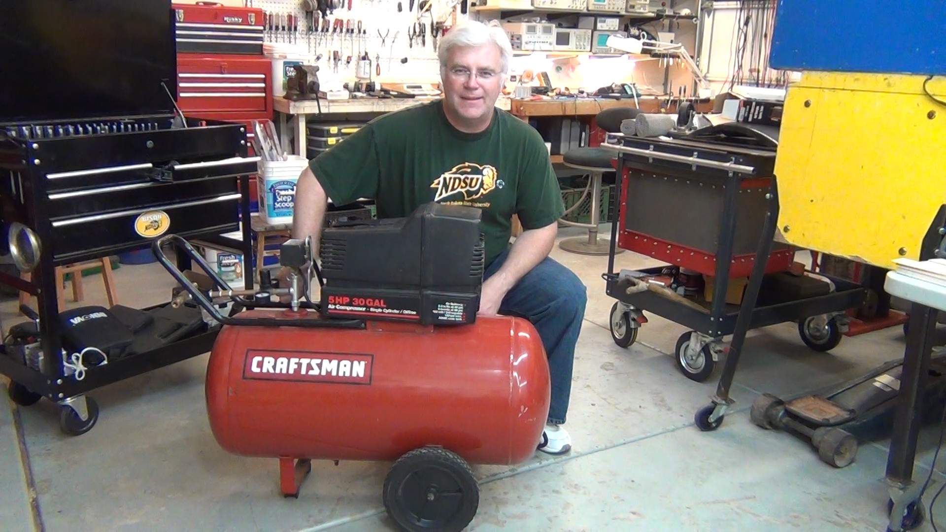 Toddfun blog archive craftsman oil free air compressor rebuild unplug sciox Images