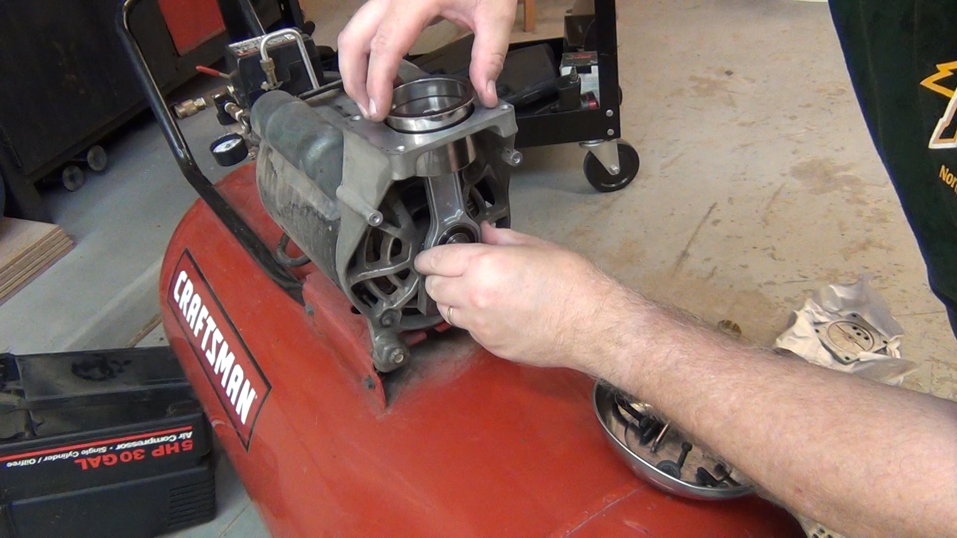 com acirc blog archive acirc craftsman oil air compressor rebuild torque