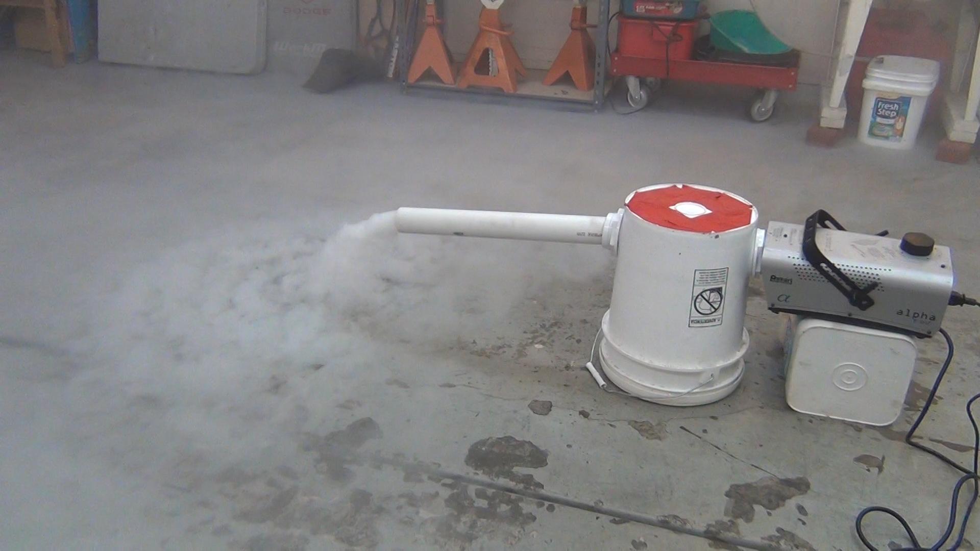 ground fog machine walmart