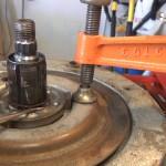 Rebuild GE Washer Transmission Brake Assembly.Still013