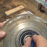 Rebuild GE Washer Transmission Brake Assembly.Still030