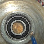 Rebuild GE Washer Transmission Brake Assembly.Still032