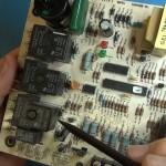 Repair HVAC - blower motor failure.Still011