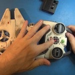 Star Wars Millennium Falcon Quadcopter Review.Still014