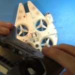 Star Wars Millennium Falcon Quadcopter Review.Still018
