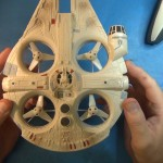 Star Wars Millennium Falcon Quadcopter Review.Still021