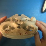 Star Wars Millennium Falcon Quadcopter Review.Still036