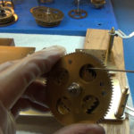 How to Assemble Oil and Grease a Grandfather Clock - part 3 of 4.Still005