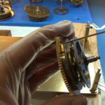 How to Assemble Oil and Grease a Grandfather Clock - part 3 of 4.Still006