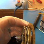 How to Assemble Oil and Grease a Grandfather Clock - part 3 of 4.Still007