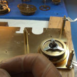 How to Assemble Oil and Grease a Grandfather Clock - part 3 of 4.Still009