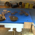 How to Assemble Oil and Grease a Grandfather Clock - part 3 of 4.Still011