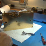 How to Assemble Oil and Grease a Grandfather Clock - part 3 of 4.Still023