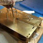 How to Assemble Oil and Grease a Grandfather Clock - part 3 of 4.Still028
