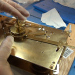How to Assemble Oil and Grease a Grandfather Clock - part 3 of 4.Still031
