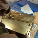How to Assemble Oil and Grease a Grandfather Clock - part 3 of 4.Still032