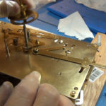 How to Assemble Oil and Grease a Grandfather Clock - part 3 of 4.Still033