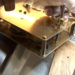 How to Assemble Oil and Grease a Grandfather Clock - part 3 of 4.Still038