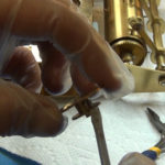 How to Assemble Oil and Grease a Grandfather Clock - part 3 of 4.Still049