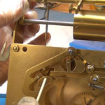 How to Assemble Oil and Grease a Grandfather Clock - part 3 of 4.Still057