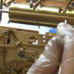 How to Assemble Oil and Grease a Grandfather Clock - part 3 of 4.Still058